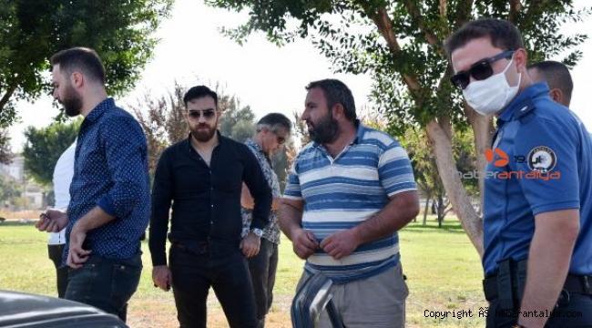 Antalya'da polis üniformalı kuyumcu soygunu !