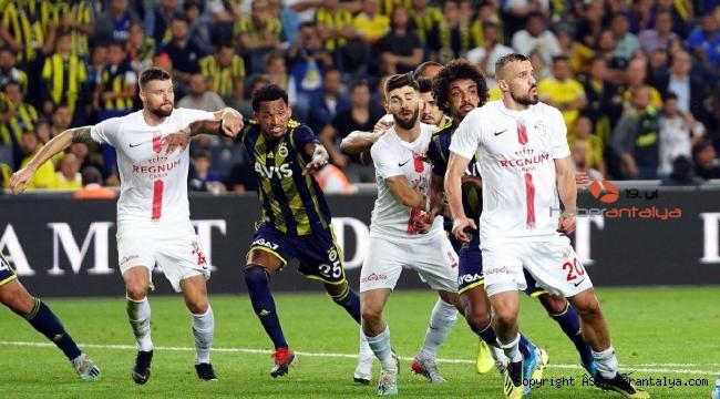 Antalyaspor'da gol yolları unutuldu