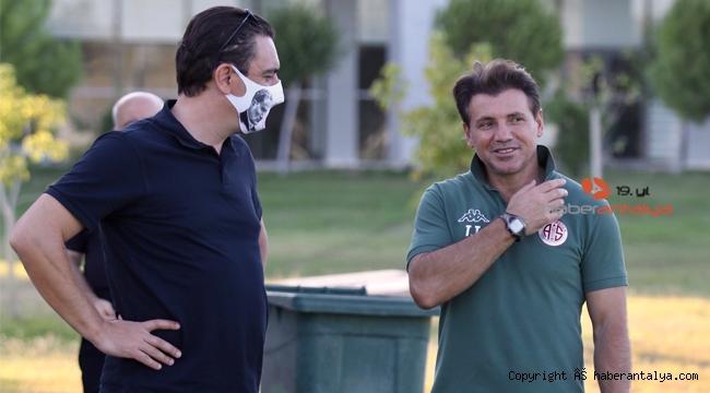 Antalyaspor'da Tamer Tuna, bu oyunculardan vazgeçmedi
