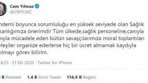 ATSO Başkanı Çetin'den Cem Yılmaz'a davet
