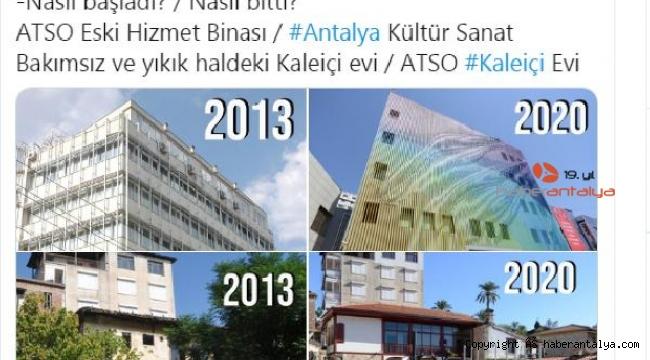 ATSO'dan 'Nasıl başladı nasıl bitti'
