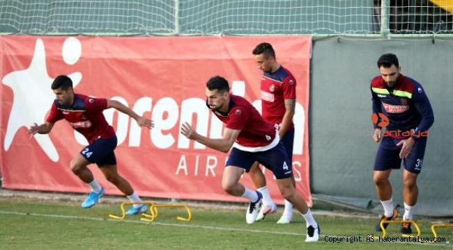 Aytemiz Alanyaspor'da Göztepe maçı hazırlıkları