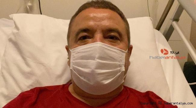 Başkan Böcek'e yoğun enfeksiyon tedavisi uygulanıyor !