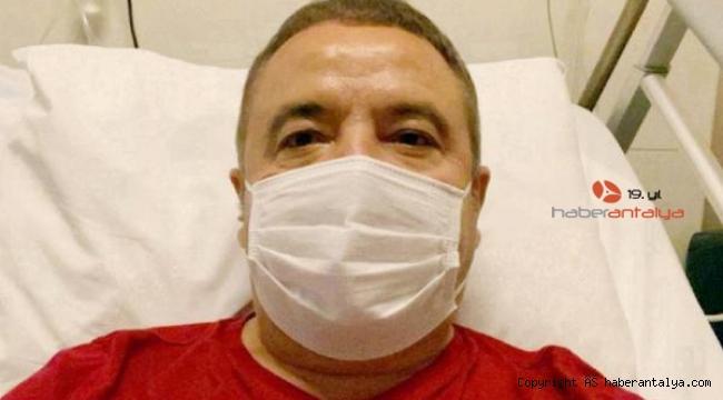 Başkan Böcek'in sağlık durumunda olumlu gelişme sürüyor