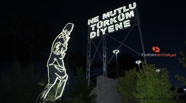 Büyükşehir'den Manavgat'a Cumhuriyet Bayramı hediyesi