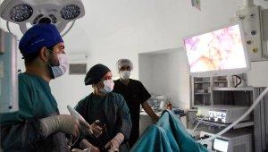 Demre Devlet Hastanesi'nde kapalı ilk ameliyat