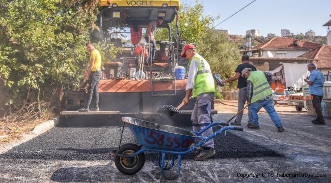 Esentepe ve Erenköy'e 10 bin ton asfalt yapılacak