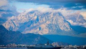 Kınalıada korveti, Antalya'da