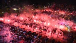 Muratpaşa'da 29 Ekim kutlamasında muhteşem tablo