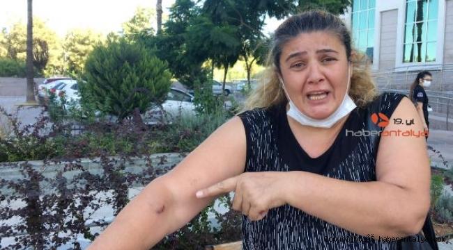 Oğlu kazada ölen anne ile kızı, sürücünün gazabına uğradı !