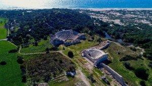 Patara Antik Kenti'nde, 1500 yıl sonra bir ilk