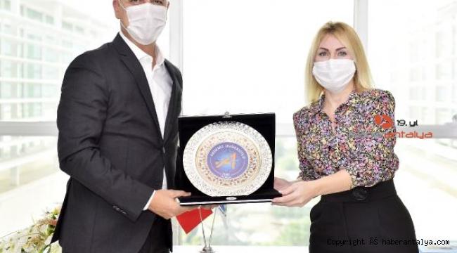 Rektör Özkan'dan Antalya OSB'ye ziyaret