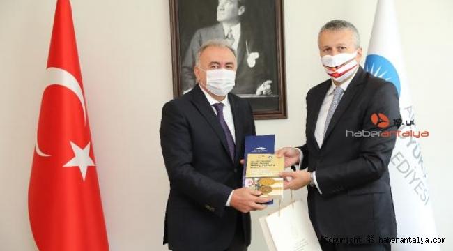 Romanya Büyükelçisi Sopanda Antalya'da