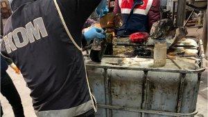 Antalya Polisi'nden kaçak akaryakıt operasyonu