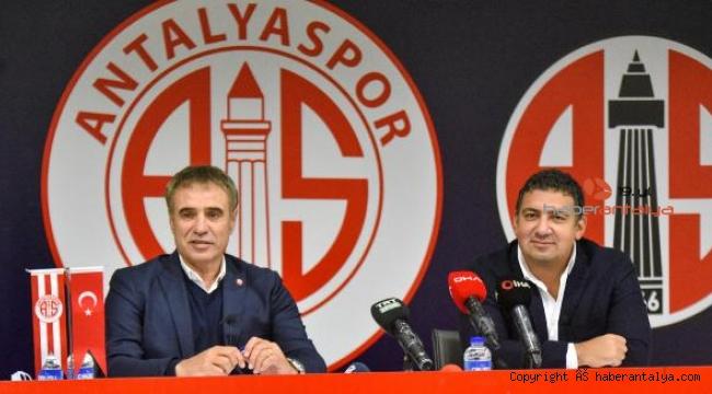 Ersun Yanal: Güçlü bir Antalyaspor yaratmak hedefimiz