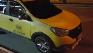 Kısıtlamadan kurtulmak için taksiyle uyuşturucu satışı !