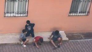 Minikler sokakta oyun oynamak yerine ekonomi konuştu !