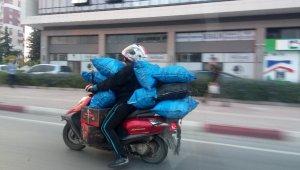 Motosikletlinin ölüm yolculuğu