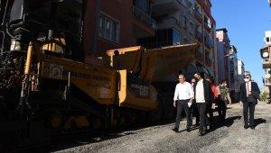 Muratpaşa Mahallesinin yolları yenileniyor