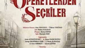 Operetlerden seçkiler Antalya DOB sahnesinde