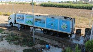 Serik'ten 56 bin 704 ton çöp transfer edildi