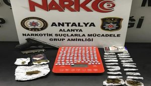 Alanya'da uyuşturucu tacirlerine hapis