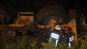 Halil'in öldüğü iş makinesi kazasında 1 tutuklama