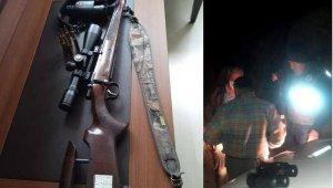 Kaçak avlanan 4 kişiye 70 bin lira ceza