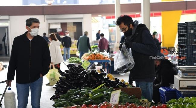 Konyaaltı'nda semt pazarlarının günleri değişti