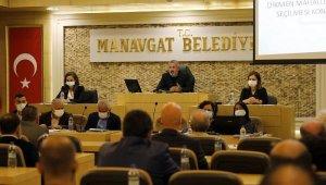 Manavgat Belediyesi'nde yılın son meclisi