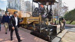 Muratpaşa, 4 yıl içinde 695 bin 640 ton sıcak asfalt üretti