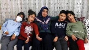7 çocuktan 4'ü ALS hastası olan aile, yardım bekliyor