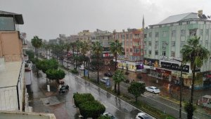Alanya'da şiddetli yağmur