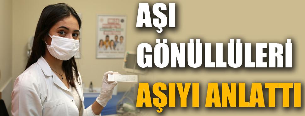 Antalya'nın aşı gönüllüleri anlattı