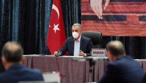 Başkan Esen: Şehitlerimizin ismi güncel siyasetin malzemesi olmamalı