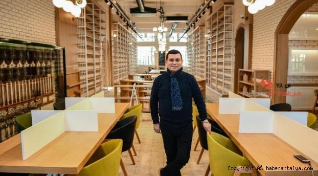 Cemil Meriç, Antalya'nın en büyük kütüphanesi olacak
