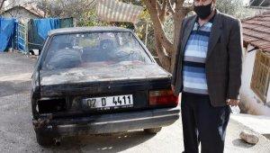 Damat adayı, yüzük atılınca kayınpederinin arabasını yaktı