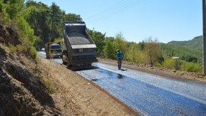 Kırsal alan yollarına 33 milyon harcandı
