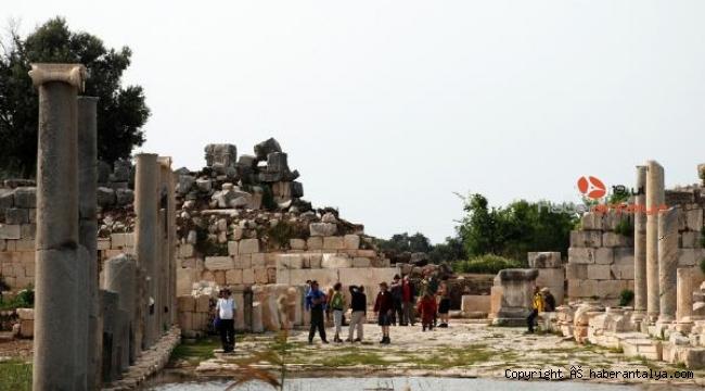 Patara Antik Kenti'ne rekor ziyaretçi