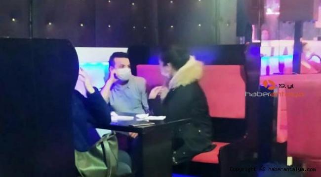 Şarampol'de eğlence merkezine operasyon; 15 kişiye 47 bin lira ceza