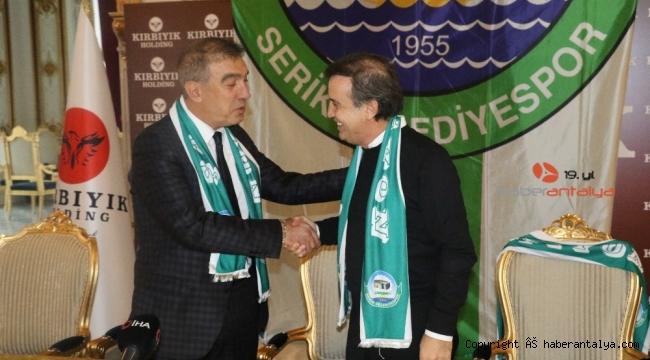 Suat Kaya, Serik Belediyespor'un teknik direktörü oldu