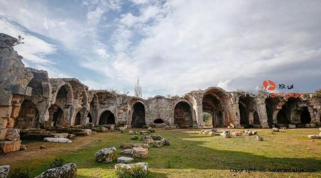 Tarihi Kargıhan Manavgat Belediyesi'ne devredildi