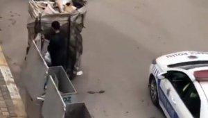 Trafik polislerinden alkışlanacak hareket