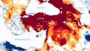Türkiye'nin kuraklık haritası yayınlandı