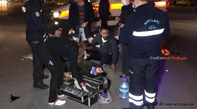 Yaralı adamın ambulans şansı !