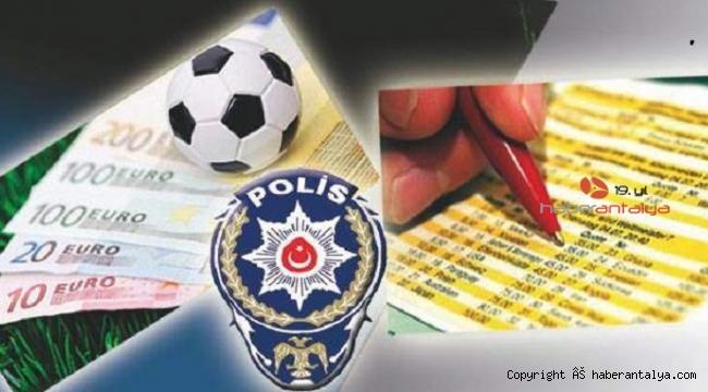 Yasa dışı bahis oynayan 79 kişiye milyonluk ceza