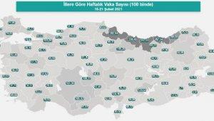 Antalya'da turuncu koronavirüs alarmı