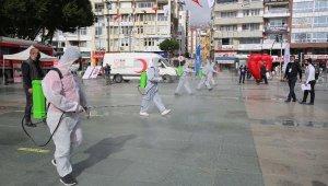 Antalya 'Sevgi' etkinliğiyle renklendi