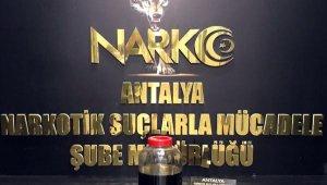 Antalya'da 500 bin kullanımlık uyuşturucu madde yakalandı !