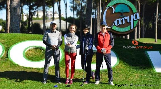 Avrupa'nın en büyük Pro-Am Golf Turnuvası, 7'nci kez Regnum Carya'da